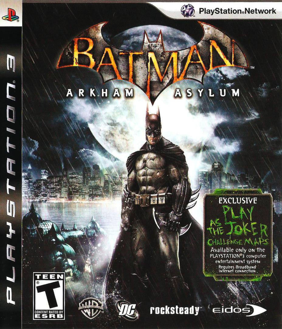 Batman: Arkham Asylum PS3 coverHQ (BLUS30279)