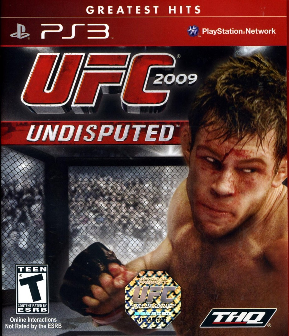 UFC 2009: Undisputed PS3 coverHQ (BLUS30299)