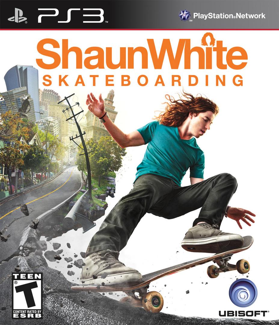 Shaun White Skateboarding PS3 coverHQ (BLUS30303)