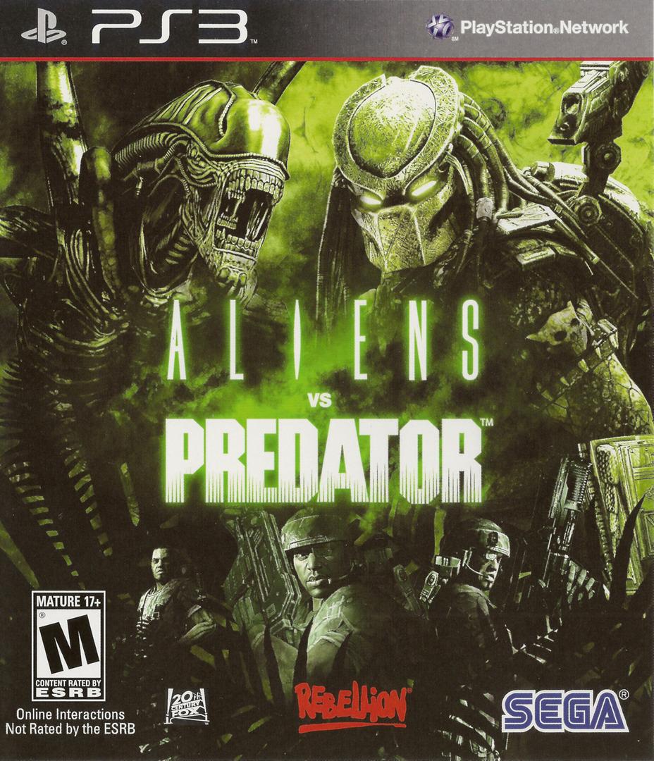 Aliens vs. Predator PS3 coverHQ (BLUS30340)