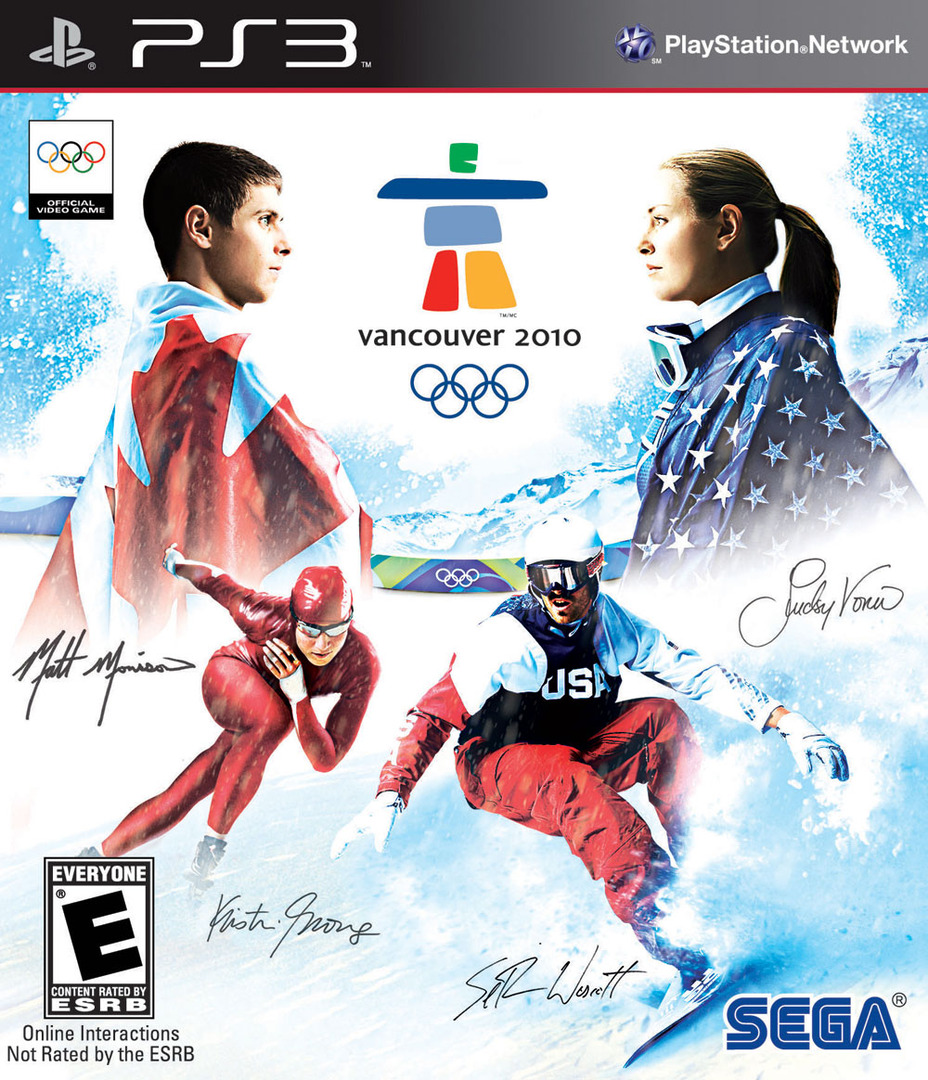 Vancouver 2010: The Official Video Game of the Olympic Games Array coverHQ (BLUS30344)