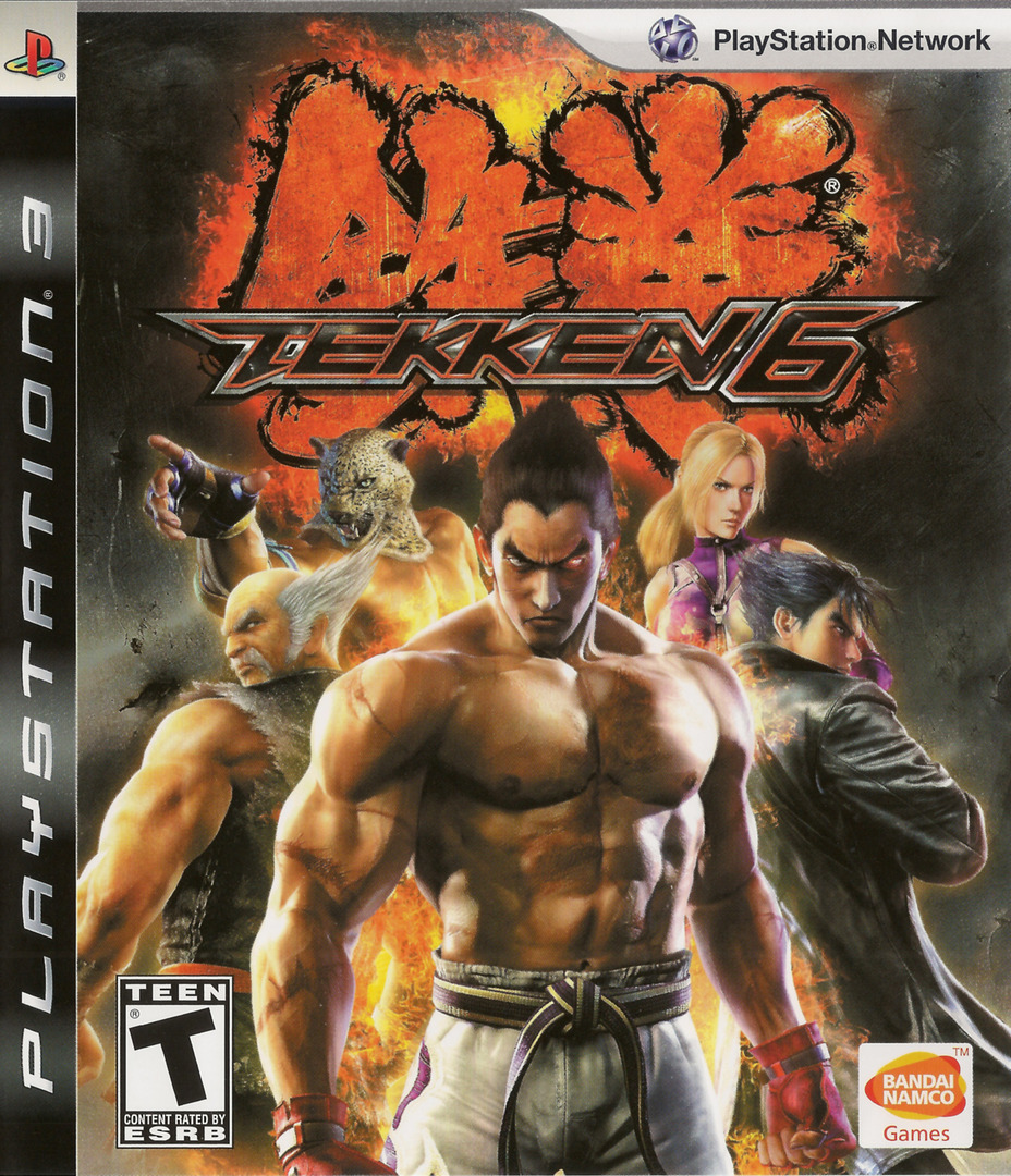 Tekken 6 Array coverHQ (BLUS30359)
