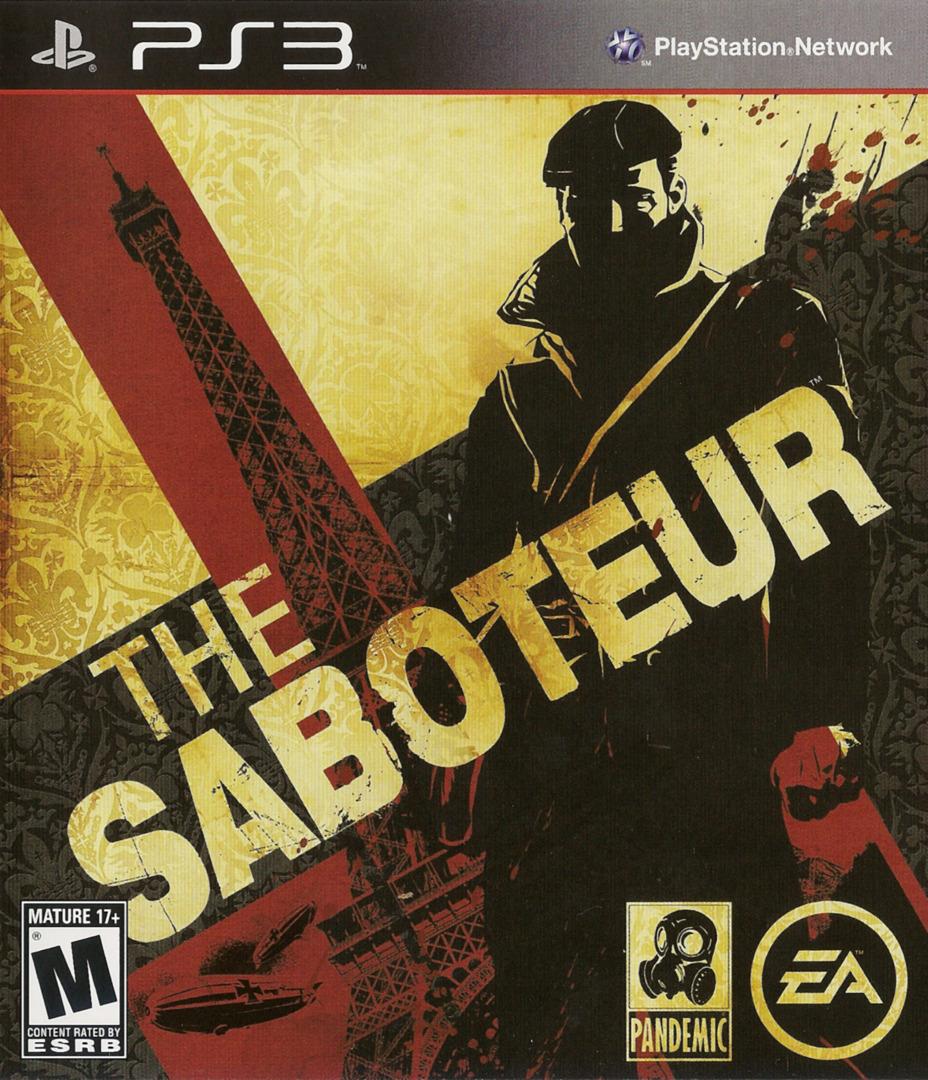 Saboteur PS3 coverHQ (BLUS30407)