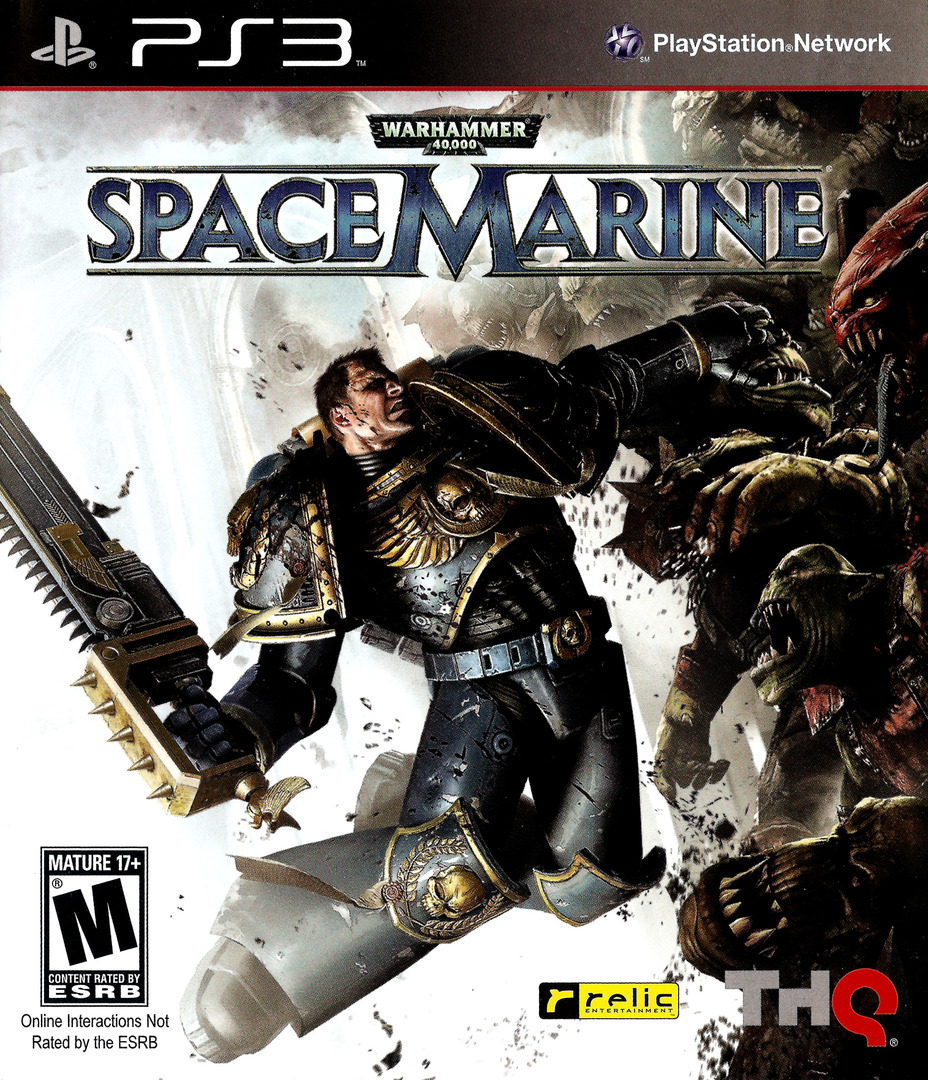 Warhammer 40000: Space Marine PS3 coverHQ (BLUS30432)
