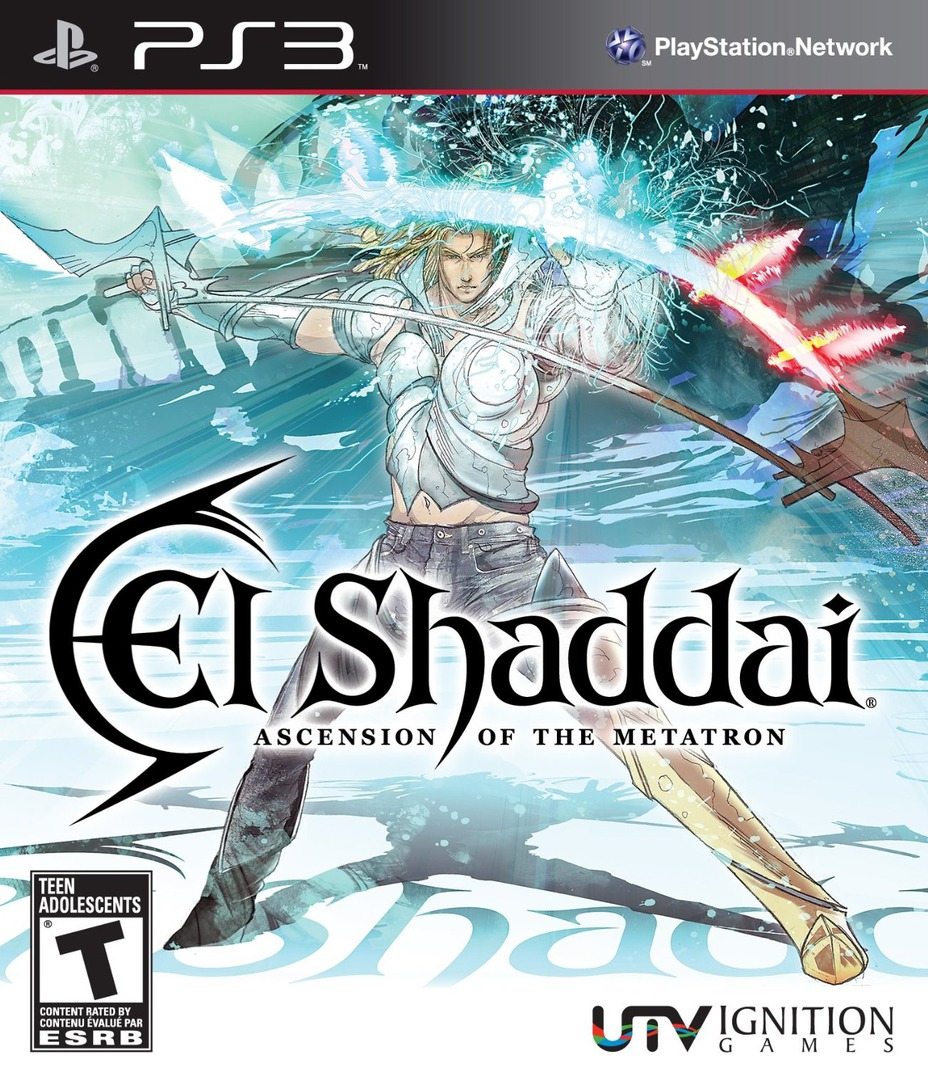 El Shaddai: Ascension of the Metatron PS3 coverHQ (BLUS30466)