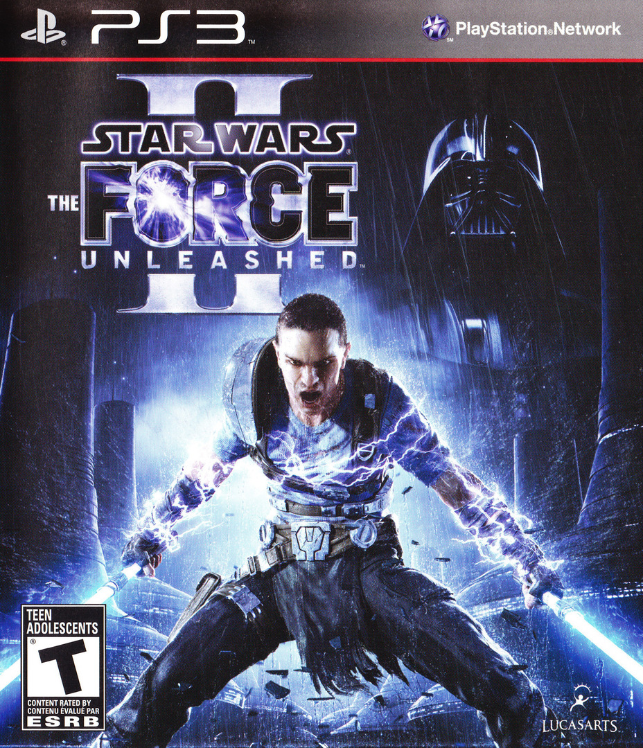 Star Wars: The Force Unleashed II PS3 coverHQ (BLUS30534)