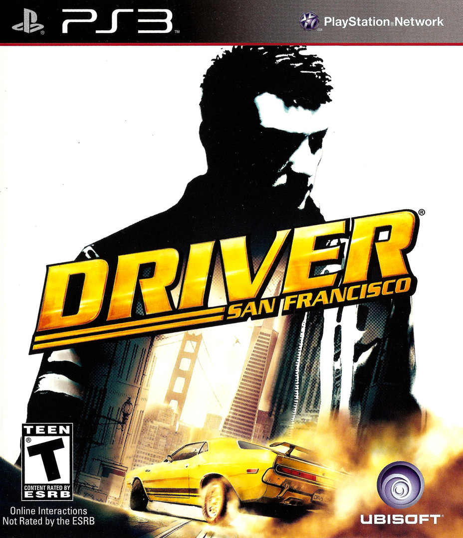 Driver: San Francisco PS3 coverHQ (BLUS30536)