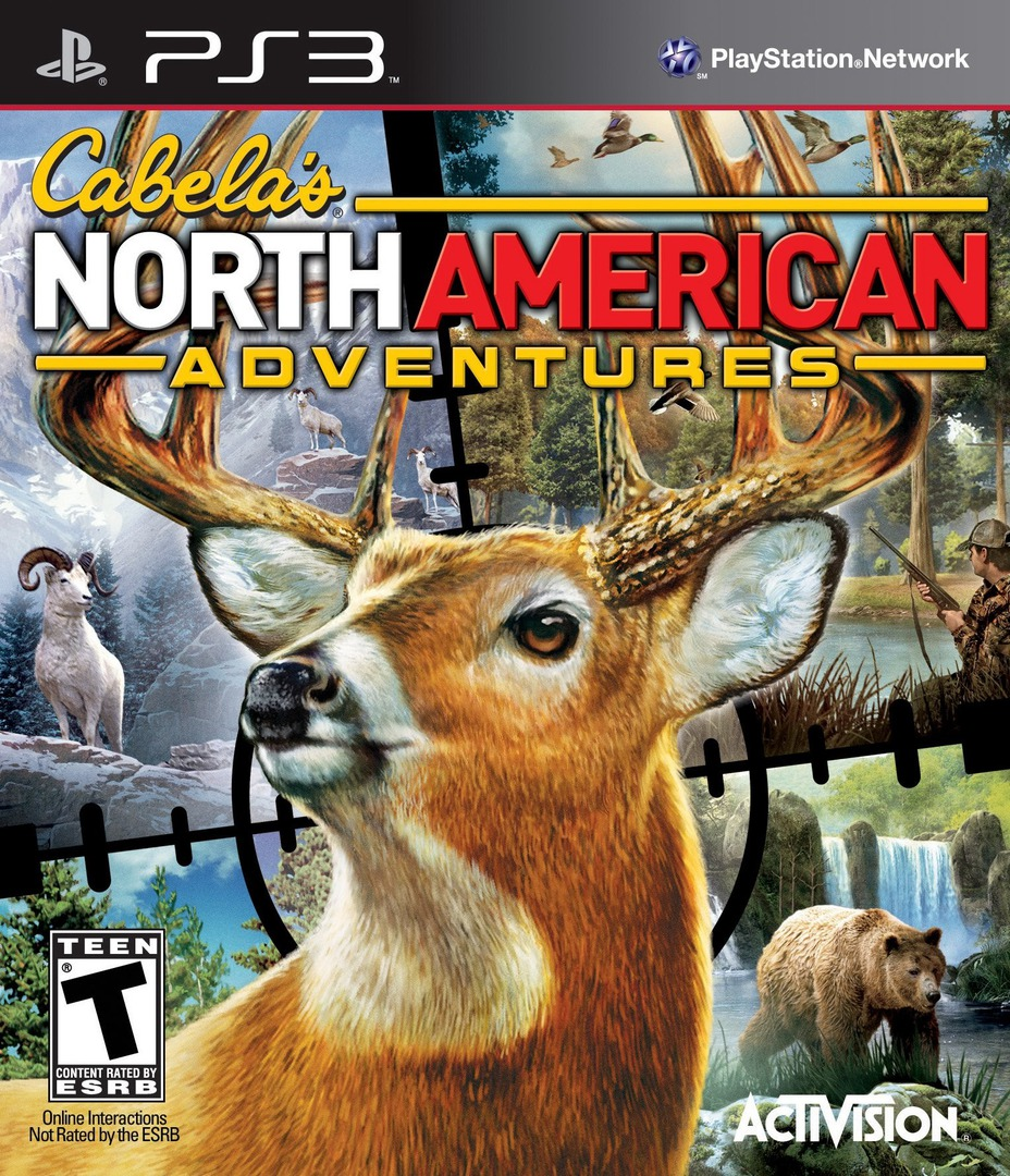 Cabela's North American Adventures PS3 coverHQ (BLUS30564)
