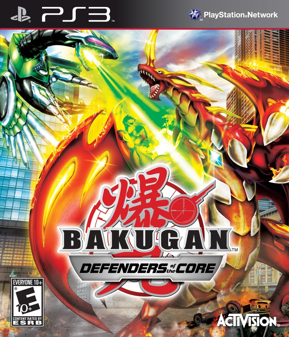 Bakugan: Defenders of the Core PS3 coverHQ (BLUS30577)
