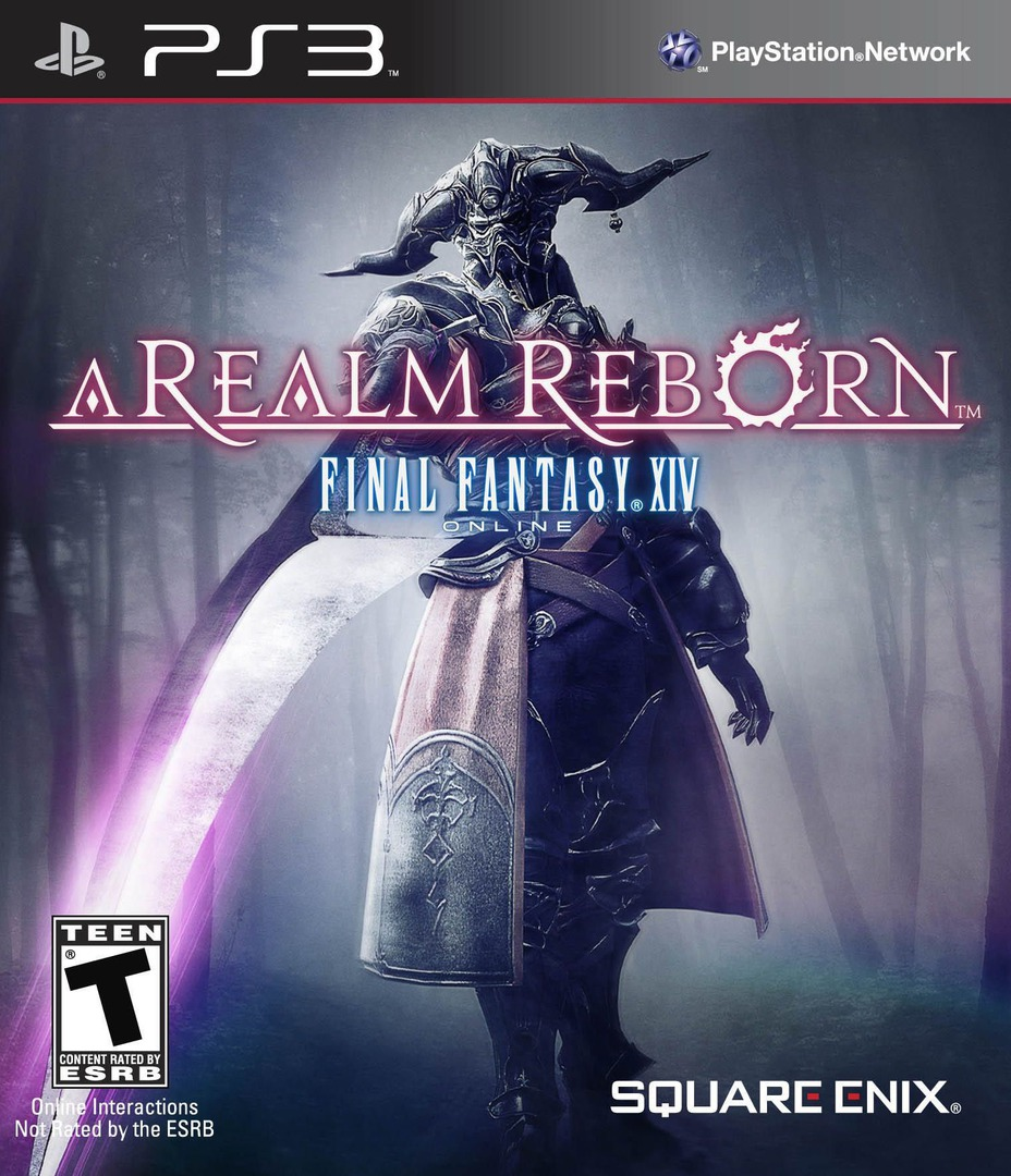 Final Fantasy XIV Online: A Realm Reborn PS3 coverHQ (BLUS30611)