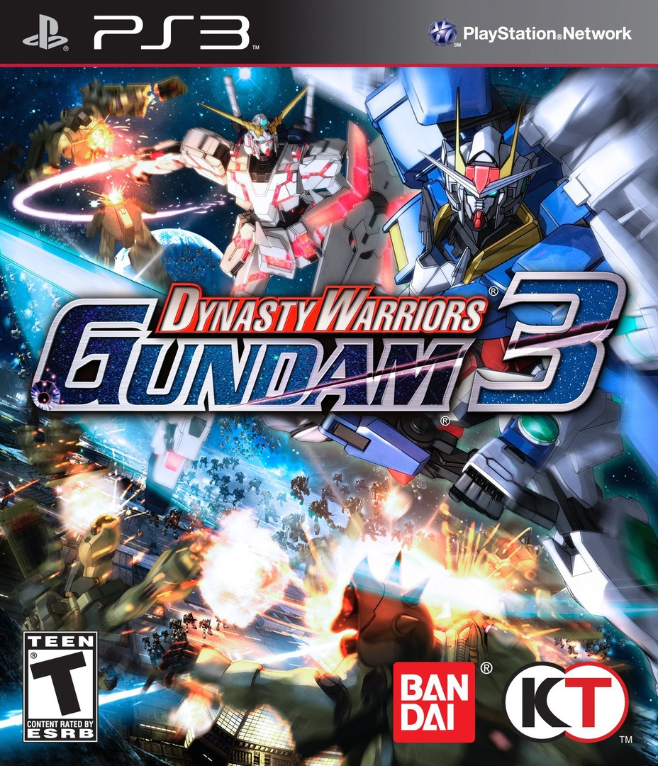 Dynasty Warriors: Gundam 3 Array coverHQ (BLUS30703)