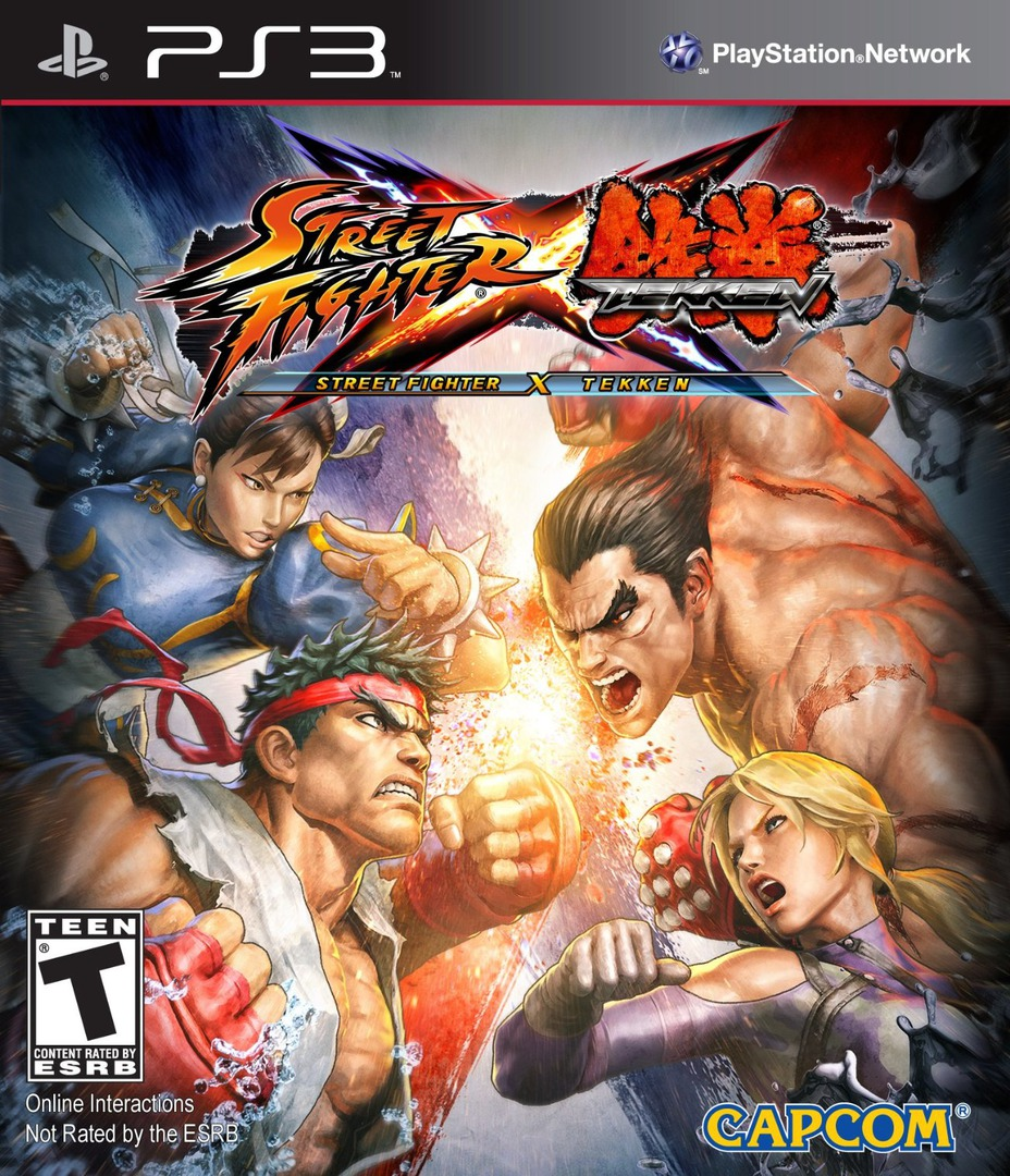 Street Fighter X Tekken PS3 coverHQ (BLUS30722)