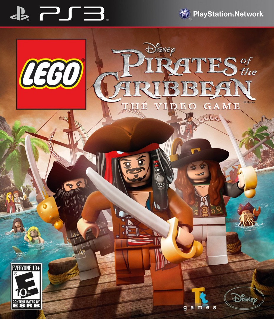 LEGO Pirates of the Caribbean: The Video Game PS3 coverHQ (BLUS30744)