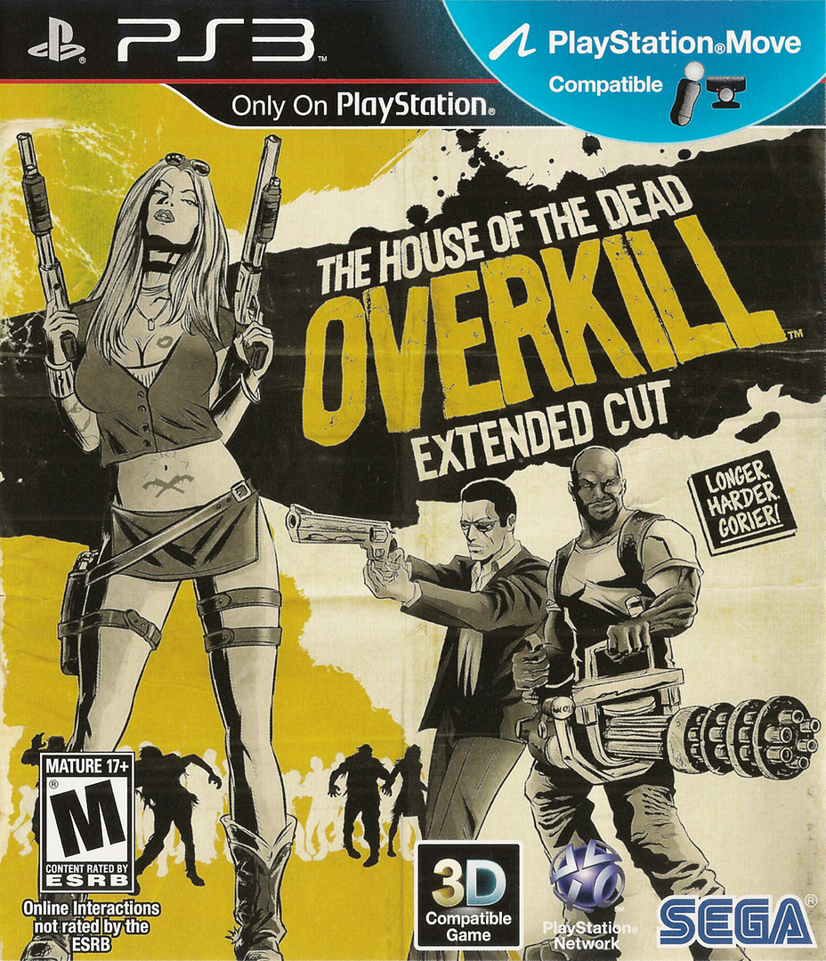 The House of the Dead: Overkill Extended Cut Array coverHQ (BLUS30774)