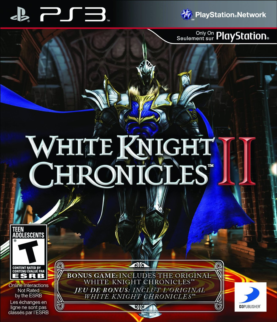 White Knight Chronicles II PS3 coverHQ (BLUS30784)