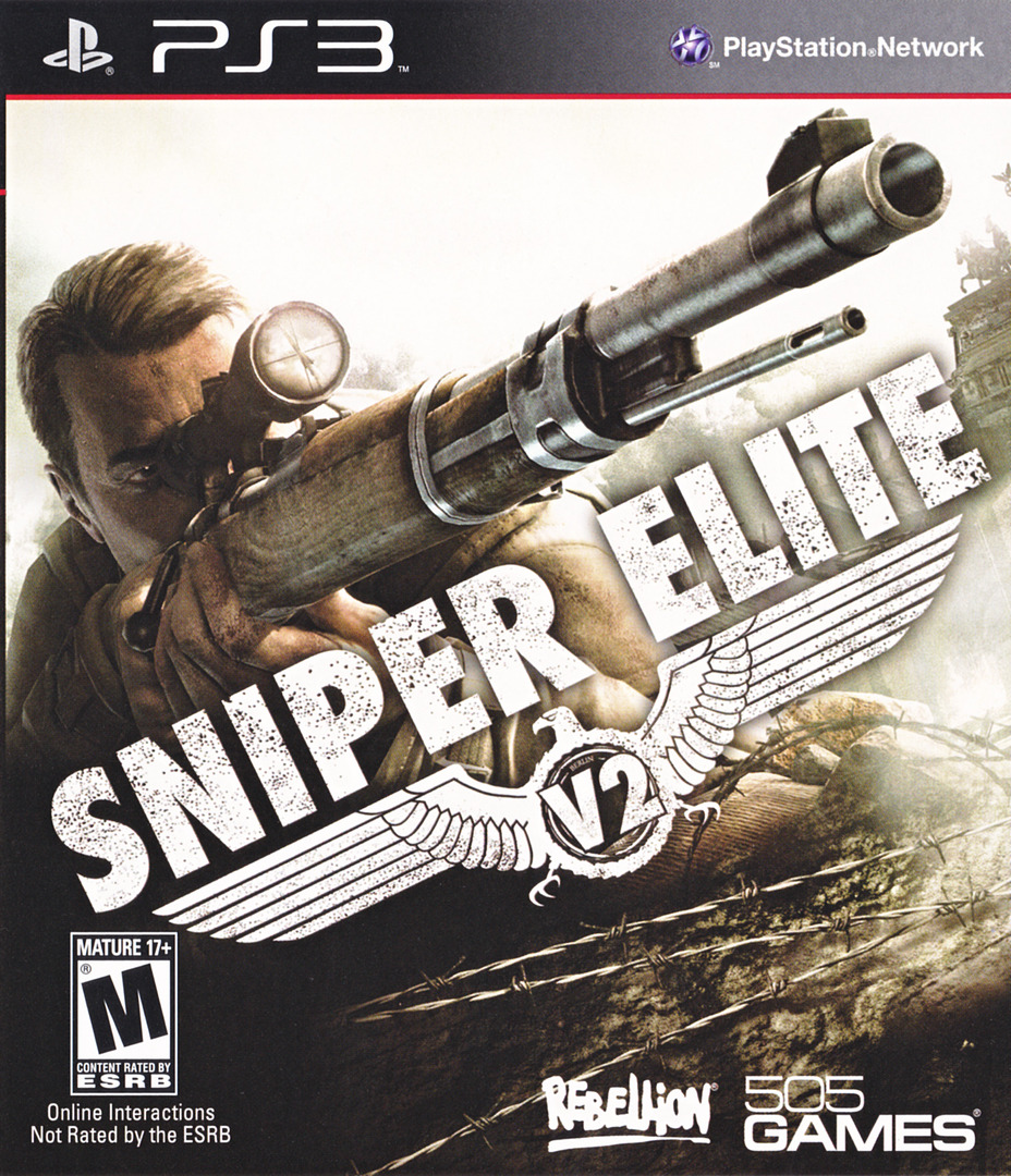 Sniper Elite V2 PS3 coverHQ (BLUS30798)