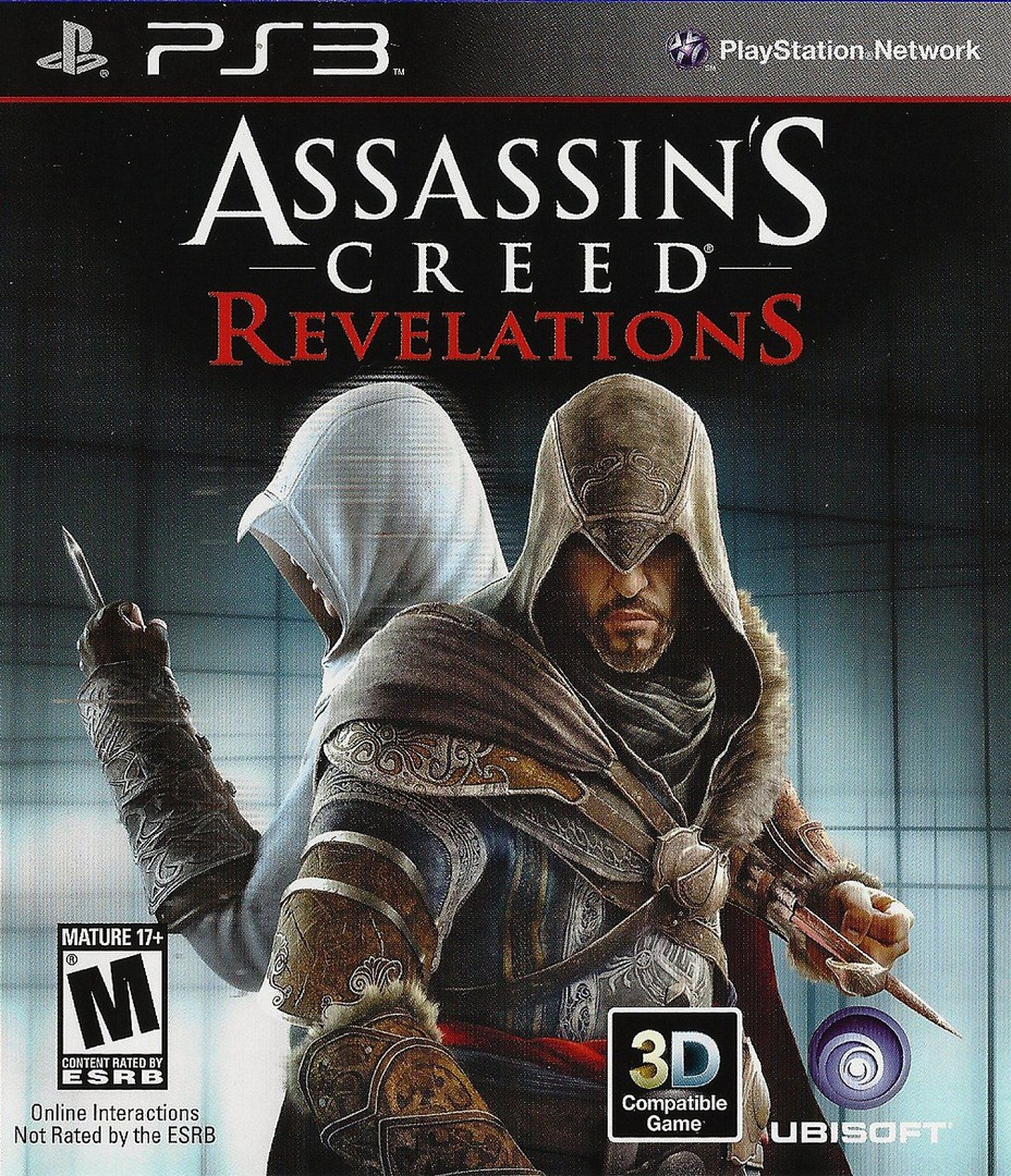 Assassin's Creed: Revelations PS3 coverHQ (BLUS30808)