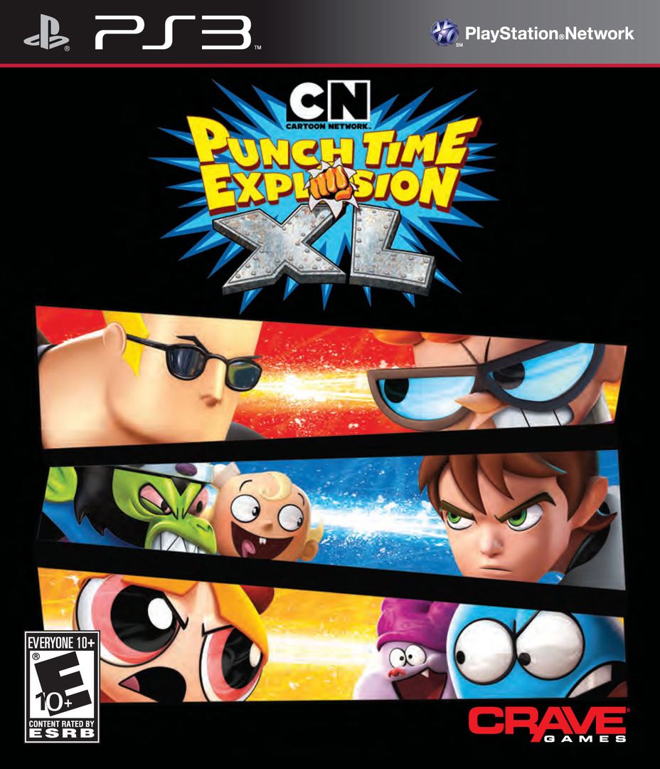 Cartoon Network: Punch Time Explosion XL PS3 coverHQ (BLUS30834)