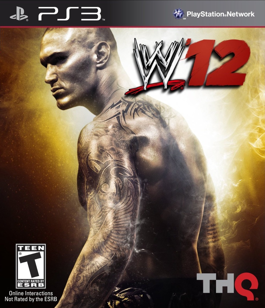 WWE 12 PS3 coverHQ (BLUS30841)