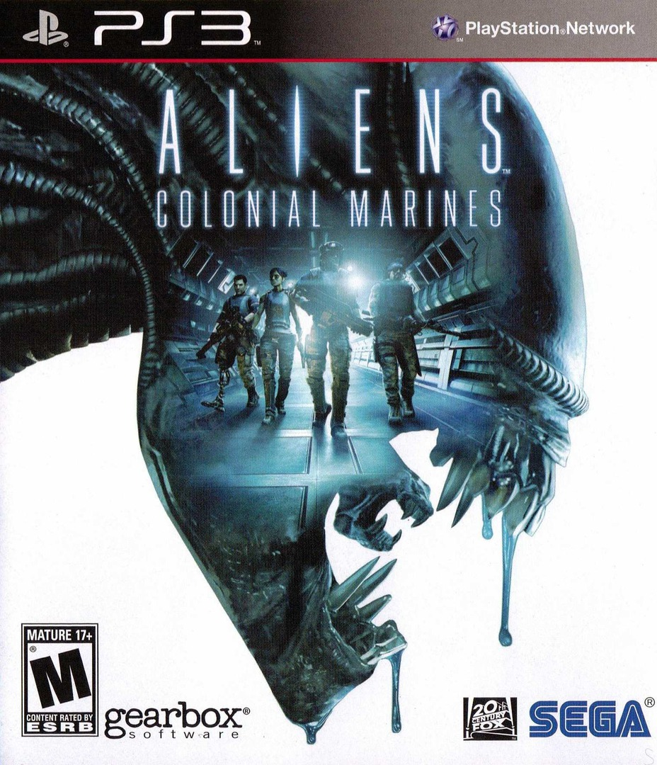 Aliens: Colonial Marines PS3 coverHQ (BLUS30862)