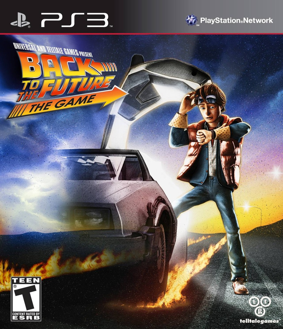 Back to the Future: The Game PS3 coverHQ (BLUS30886)