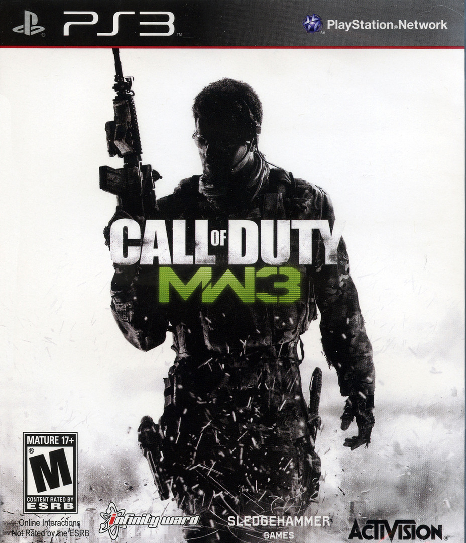 Call of Duty:Modern Warfare 3 PS3 coverHQ (BLUS30887)