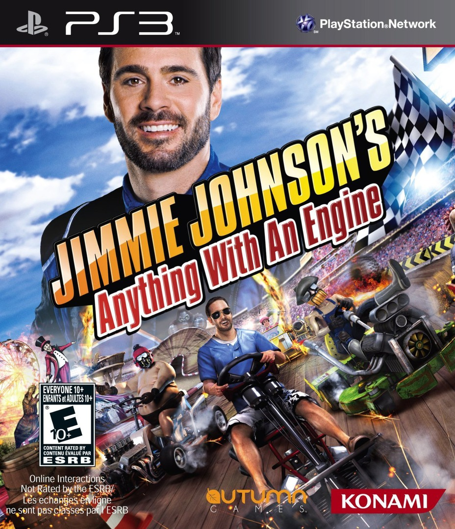 Jimmie Johnson's Anything With an Engine Array coverHQ (BLUS30897)
