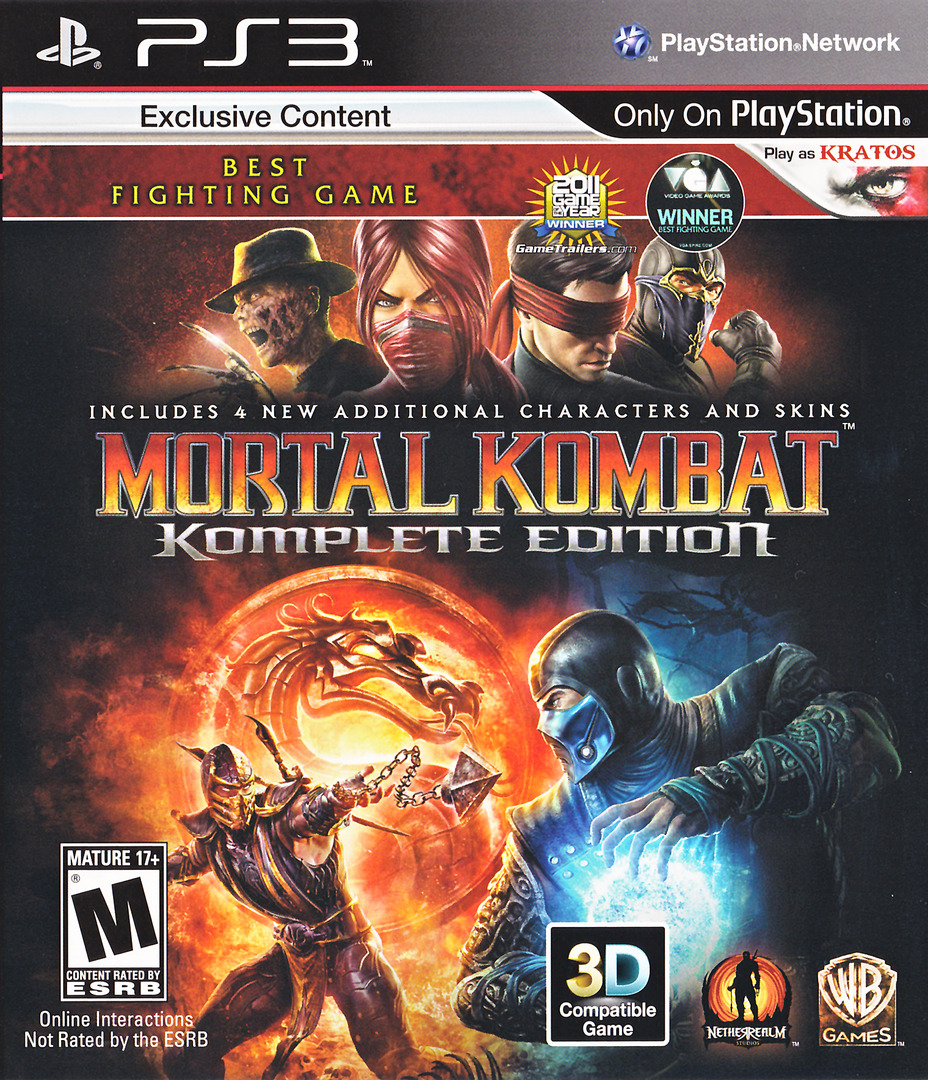 Mortal Kombat Komplete Edition PS3 coverHQ (BLUS30902)