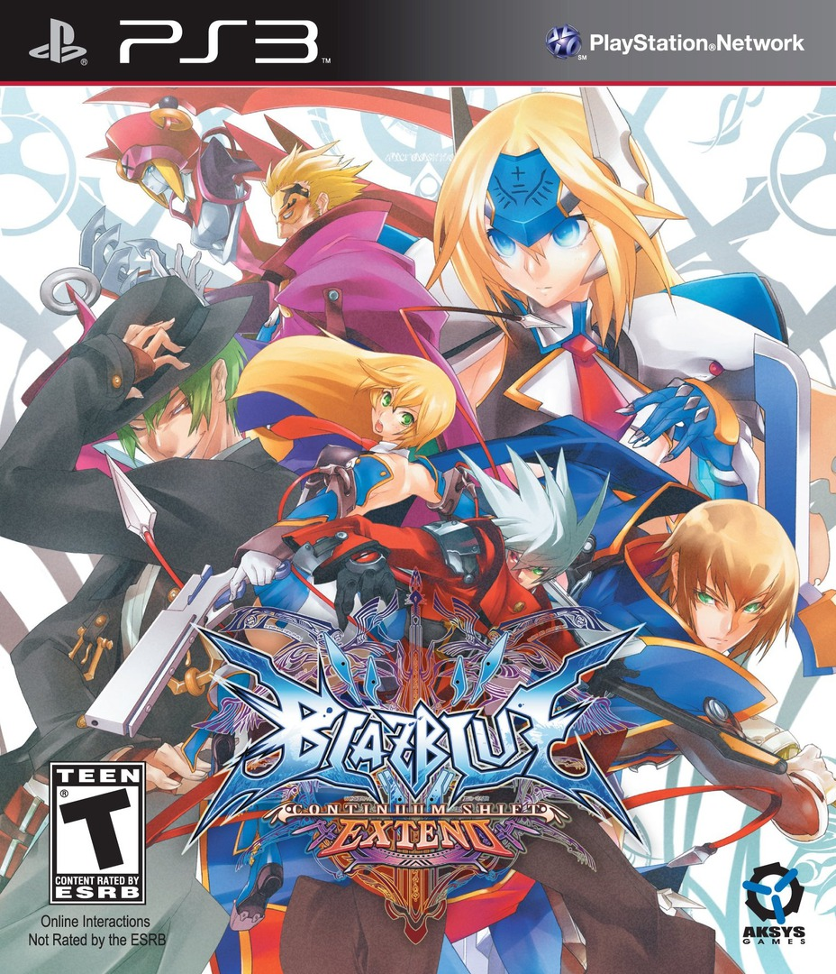 BlazBlue: Continuum Shift Extend PS3 coverHQ (BLUS30946)