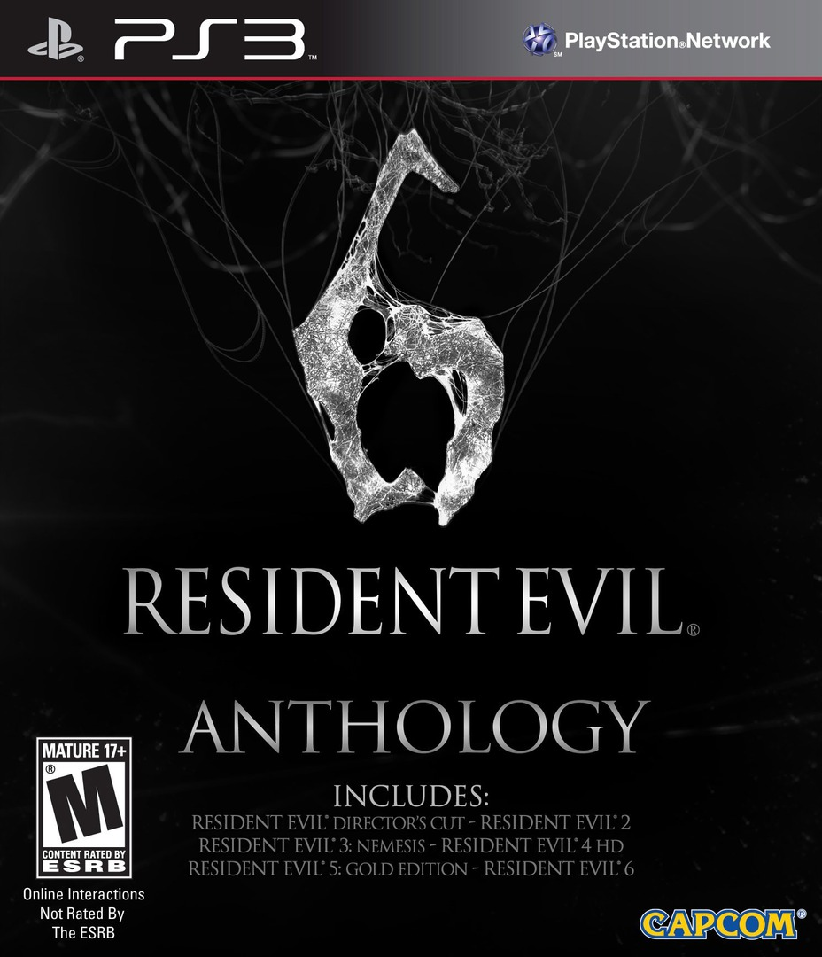 Resident Evil 6 Anthology PS3 coverHQ (BLUS31005)