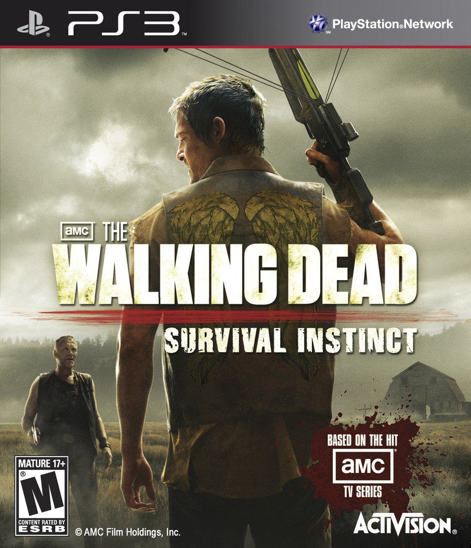 The Walking Dead: Survival Instinct PS3 coverHQ (BLUS31065)