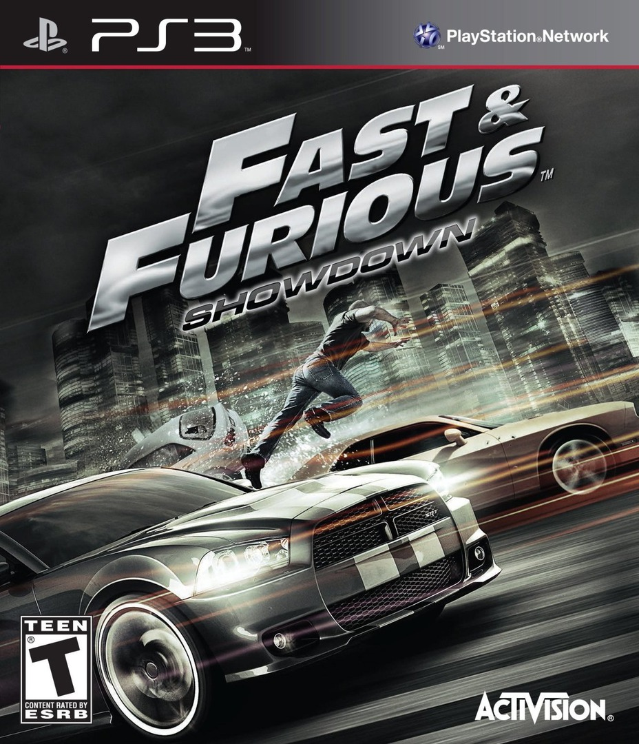 Fast and Furious : Showdown PS3 coverHQ (BLUS31153)