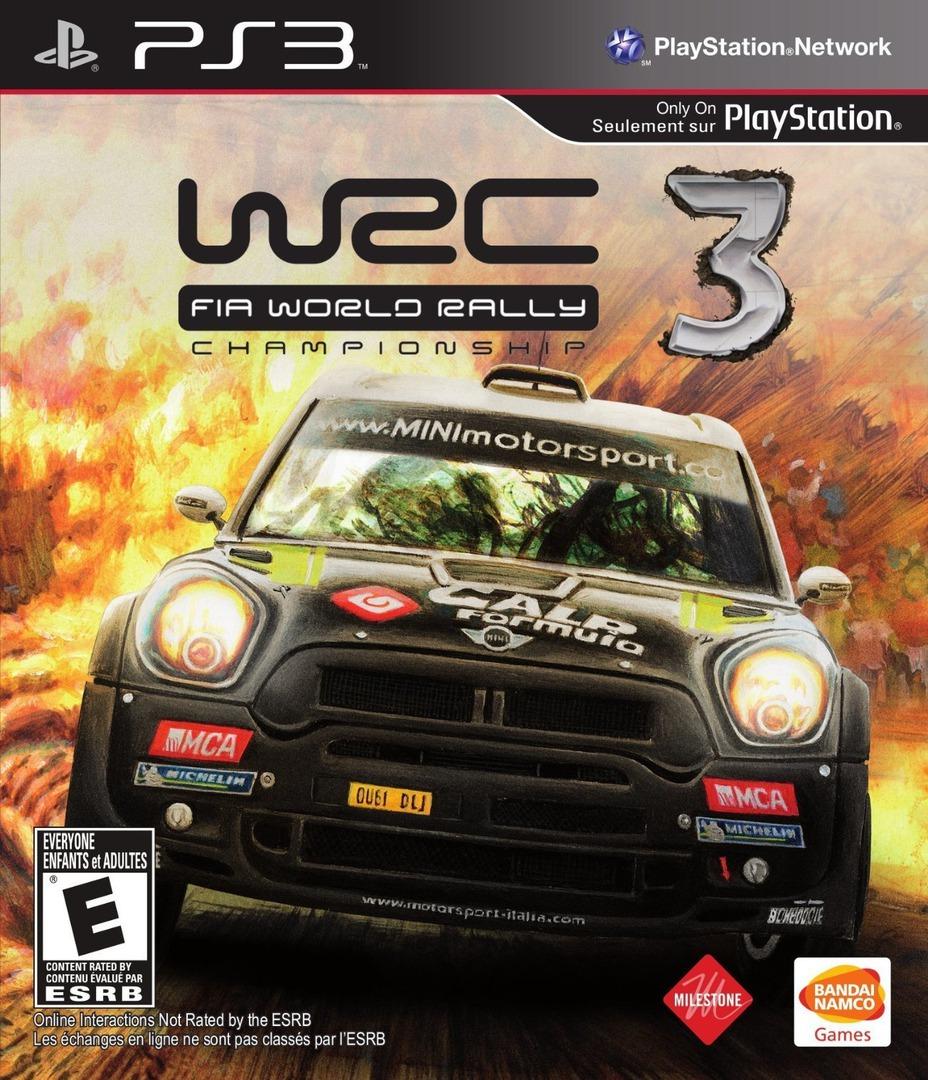 WRC 3: Fia World Rally Championship PS3 coverHQ (BLUS31168)