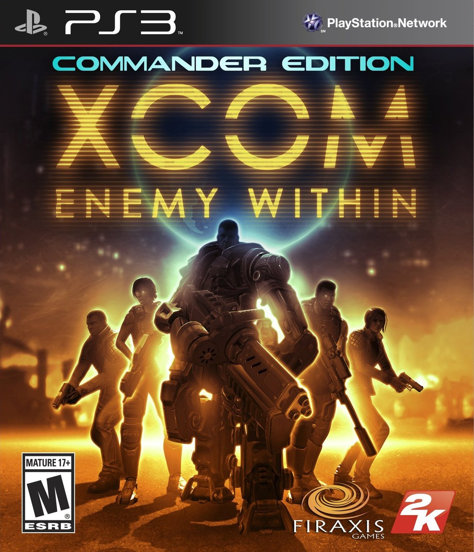 XCOM: Enemy Within PS3 coverHQ (BLUS31180)
