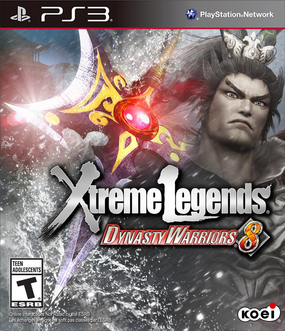 Dynasty Warriors 8: Xtreme Legends PS3 coverHQ (BLUS31185)