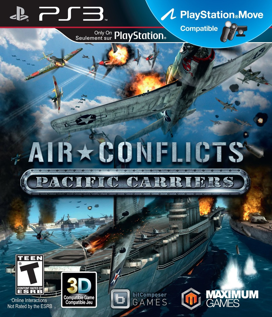 Air Conflicts: Pacific Carriers PS3 coverHQ (BLUS31210)