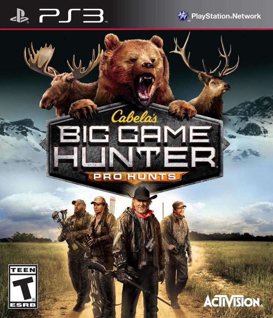 Cabela's Big Game Hunter: Pro Hunts PS3 coverHQ (BLUS31274)