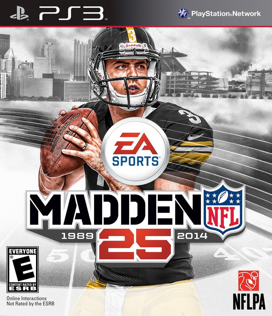 Madden NFL 25 (Anniversary Edition) PS3 coverHQ (BLUS31345)