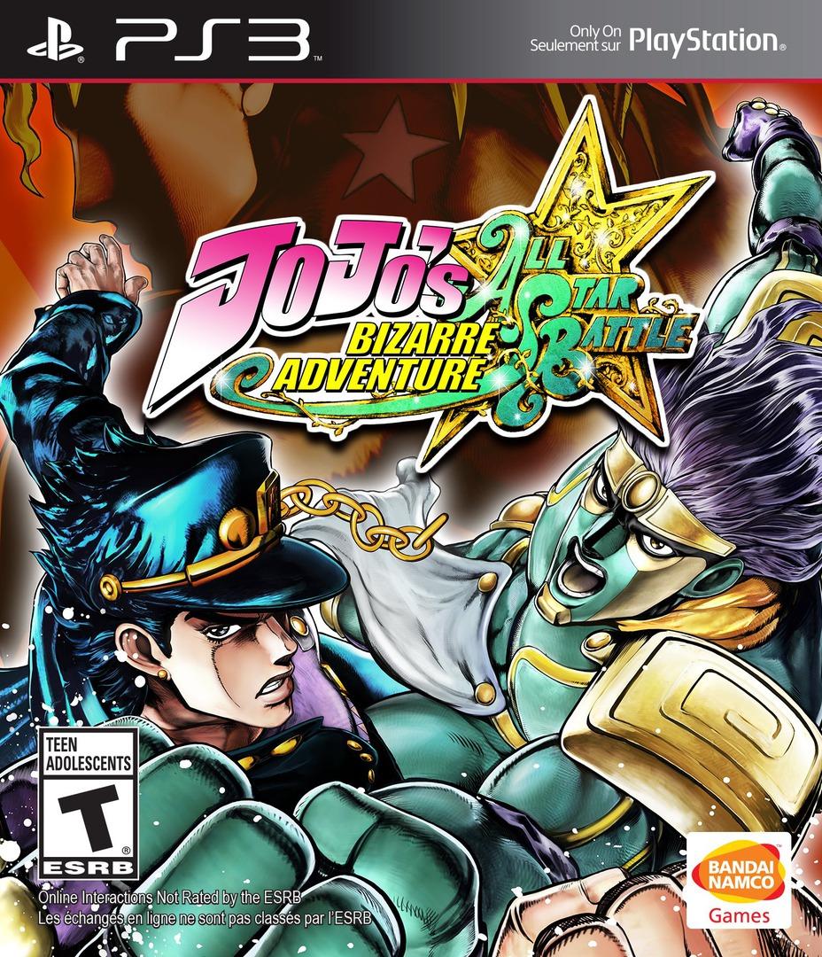 JoJo's Bizarre Adventure: All-Star Battle Array coverHQ (BLUS31405)