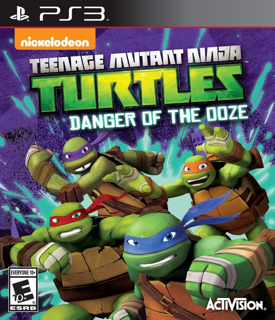 Teenage Mutant Ninja Turtles: Danger of the Ooze PS3 coverHQ (BLUS31435)