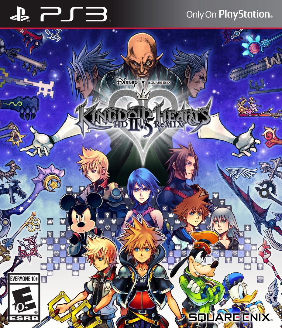 Kingdom Hearts 2.5 HD ReMIX PS3 coverHQ (BLUS31460)