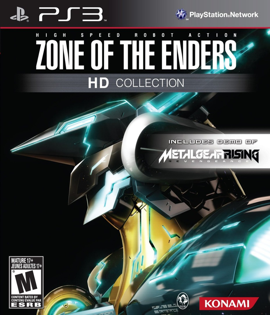 Zone of the Enders HD Collection - Limited Edition (Includes demo of Metal Gear Rising: Revengence) PS3 coverHQ (BLUS41007)