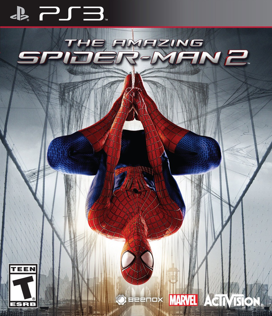 The Amazing Spider-Man 2 PS3 coverHQ (BLUS41044)
