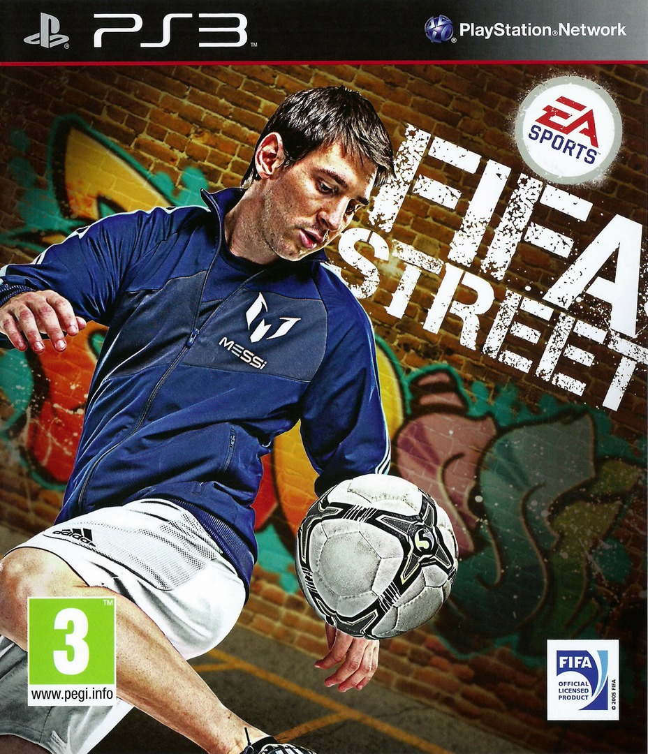 FIFA Street PS3 coverHQ (BLES01493)