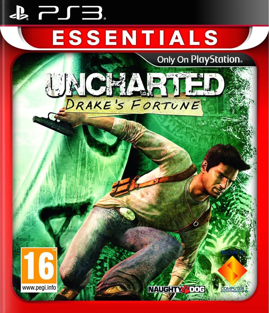 Uncharted: Drake's Fortune PS3 coverHQ2 (BCES00065)