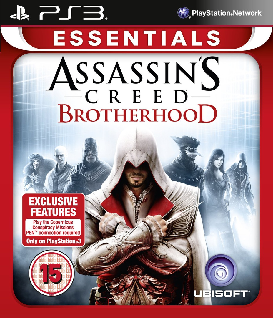 Assassin's Creed: Brotherhood PS3 coverHQ2 (BLES00909)