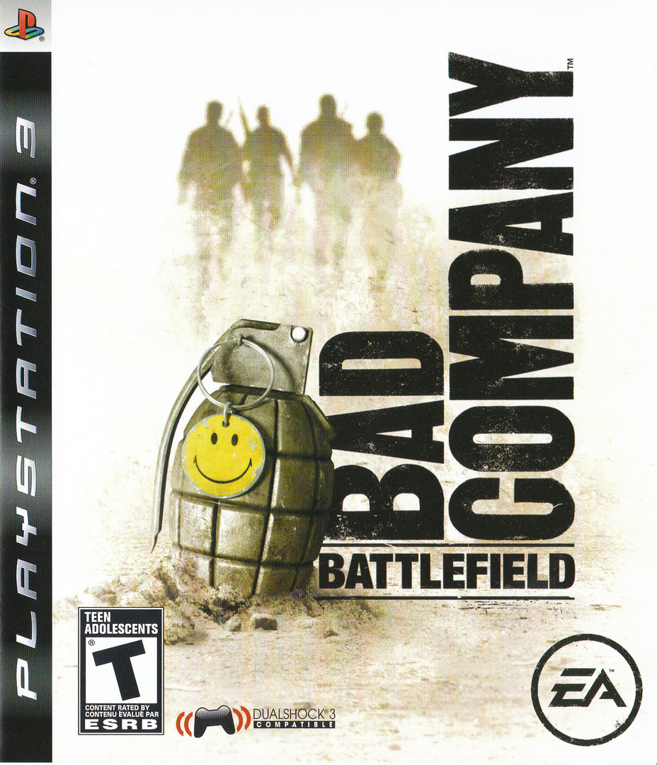 Battlefield: Bad Company PS3 coverHQ2 (BLUS30118)