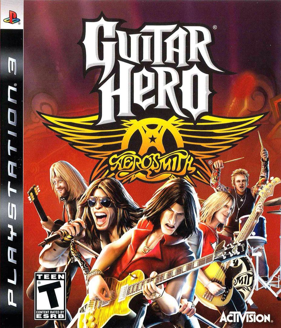 Guitar Hero: Aerosmith PS3 coverHQ2 (BLUS30133)