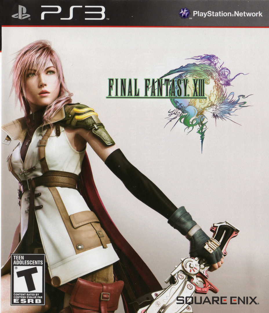 Final Fantasy XIII PS3 coverHQ2 (BLUS30416)