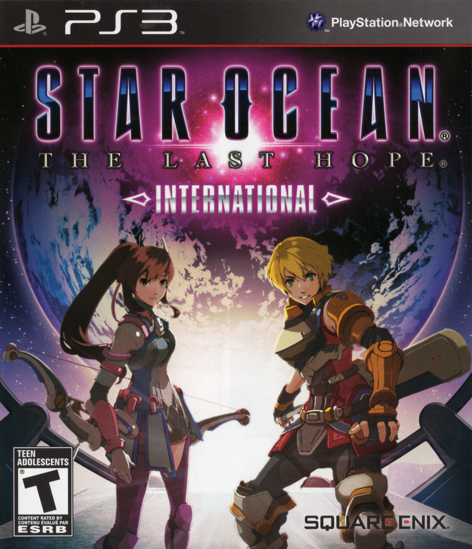 Star Ocean: The Last Hope - International PS3 coverHQ2 (BLUS30462)